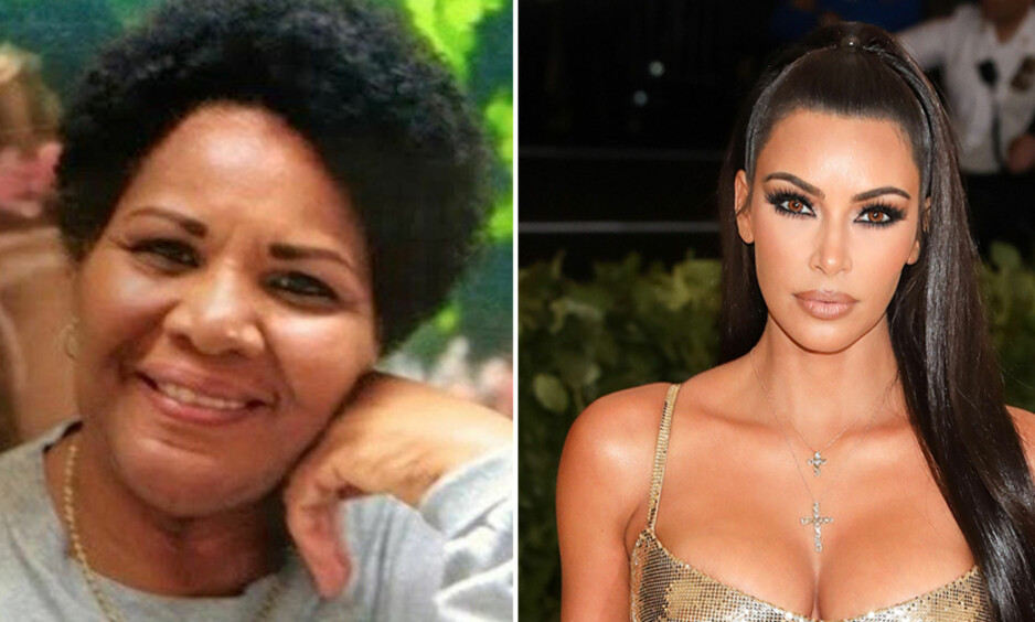 KAN REDDES AV KIM: Onsdag møtte realitystjerna Kim Kardashian Donald Trump for å diskutere saken om narkotikadømte Alice Marie Johnson, som soner en fengselsstraff på livstid. Foto: Change.org, NTB Scanpix