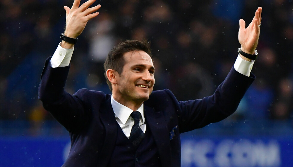 MANAGER: Frank Lampard er ny Derby-manager. Foto: NTB Scanpix