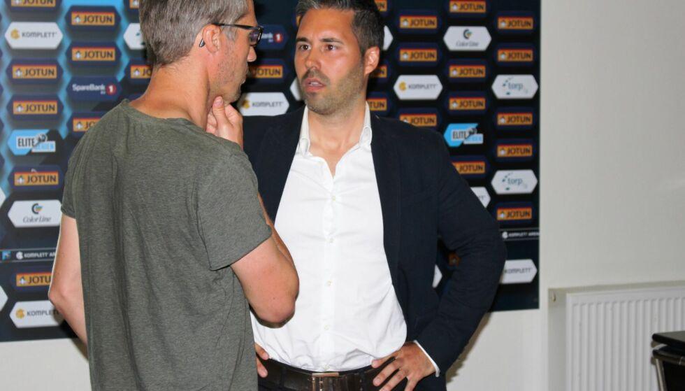 NY TRENER: Martí Cifuentes er ansatt som ny Sandefjord-trener. Foto: Sandefjord Fotball