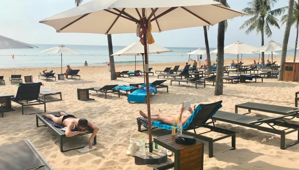 DRØMMEFERIEN: Ikke la drømmeferien på stranda ende opp med en strandet ferie på do. Foto: Odd Roar Lange/The Travel Inspector