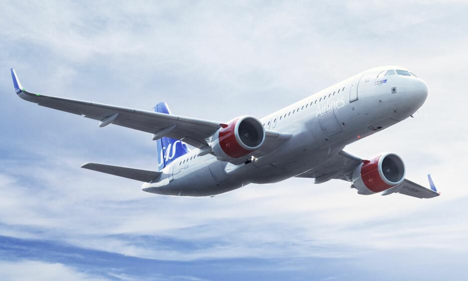 NYE FLY: SAS har 50 nye A320 Neo i bestilling, og vil etterhvert operere nærmere 80 maskiner av denne typen. Det mener selskapet vil bedre konkurranseevnen betydelig. Foto: SAS