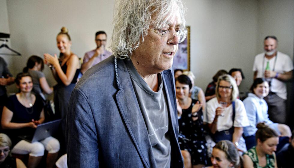 INTIMT: På rom 316 på Breiseth hotell fortalte forfatter Dag Solstad om vennen Jon Michelet. Foto: Nina Hansen / Dagbladet