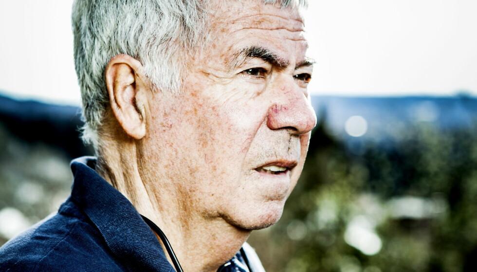 PRESISERER: Egil Olsen ønsker å presisere hva han mener i debatten om Norsk Toppfotball og Norges Fotballforbund. Foto: Christian Roth Christensen