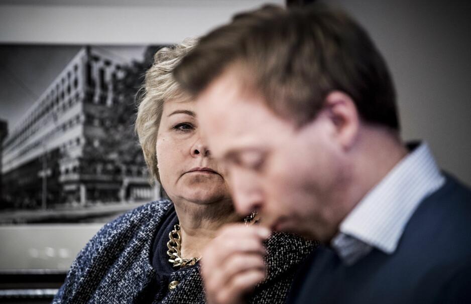 METOO-SAKENE: Høyre har konkludert i varslingssakene. Foto: Lars Eivind Bones / Dagbladet
