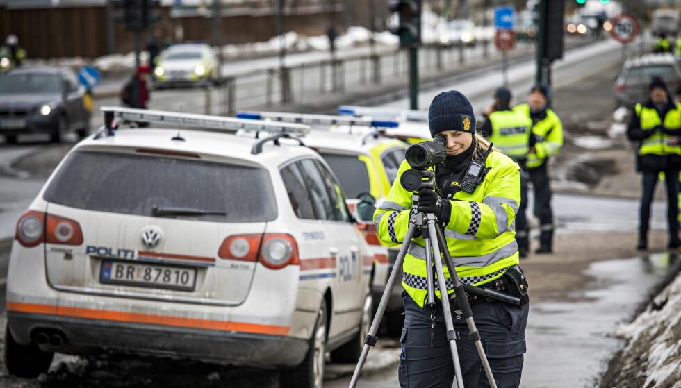 STORAKSJON: UP og politiet i Oslo gjennomførte tidligere i år en stor promillekontroll på Sinsen i Oslo. Foto: Jørn H. Moen / Dagbladet