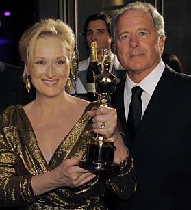 HOLDT SAMMEN: Streep og Gummer har i år vært gift i 40 år. Foto: NTB Scanpix
