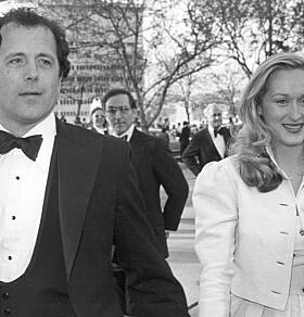 ANDRE EKTEMANN: Det var mens Meryl Streep sørget tapet av sin første ektemann at hun forelsket seg i brorens kamerat Don Gummer. Foto: NTB Scanpix