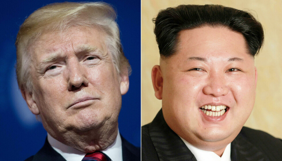 MØTES LIKEVEL: USAs president Donald Trump og Nord-Koreas leder Kim Jong-un. Foto: AFP / NTB Scanpix