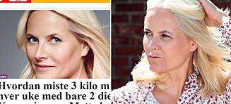 Mette-Marit misbrukt i slankereklame igjen