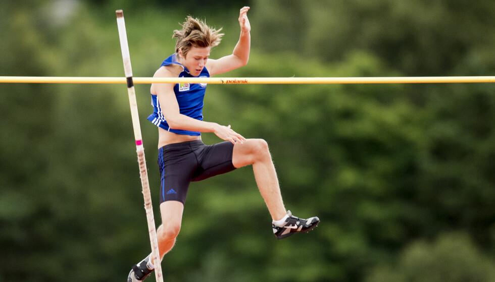 HERJER: Pål Haugen Lillefosse er verdens beste 18-åring. Foto: Jon Olav Nesvold / NTB scanpix