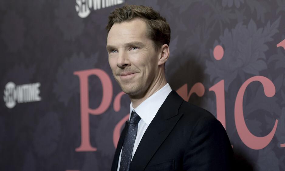 REDDET DAGEN: Skuespiller Benedict Cumberbatch er best kjent for rollen som Sherlock Holmes i den populære serien «Sherlock». Nå hylles han for helt andre ting enn sine skuespillerprestasjoner. Foto: NTB scanpix