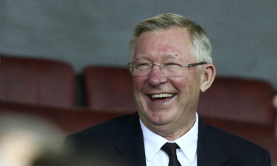 GODE NYHETER: Sir Alex Ferguson er skrevet ut av sykehuset en måned etter en hjerneblødning. Foto: AP Photo/Dave Thompson/NTB scanpix