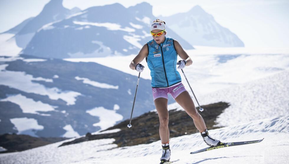 BLE HØRT: Maiken Caspersen Falla har fått flere sprintere med seg på langrennslandslaget for kvinner. Foto: Lars Eivind Bones / Dagbladet