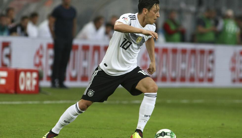 SVIKTET. Mesut Özils 1-0-scoring mot Østerrike holdt ikke til seier. Foto: Ronald Zak / AP / NTB scanpix.