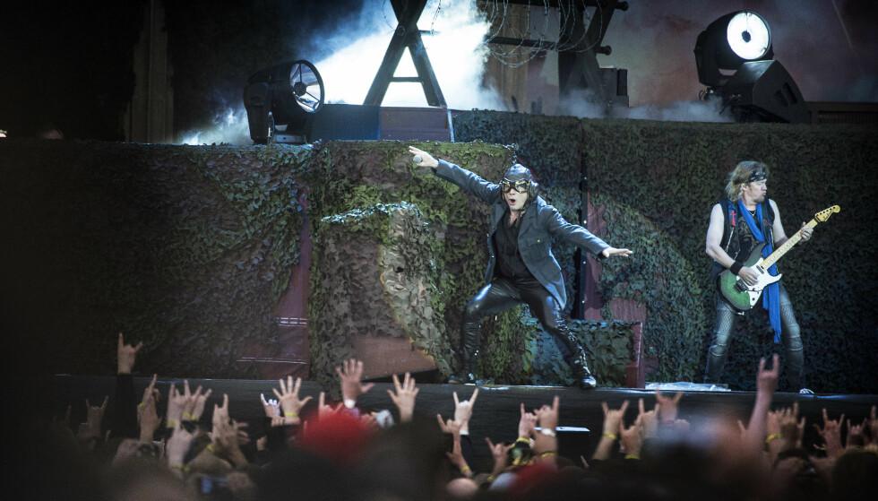 NORGESAKTUELL: Iron Maiden spiller på Tons of Rock på Ekebergsletta neste sommer. Her fra en konsert i Trondheim fra 2018. Foto: Hans Arne Vedlog / DAGBLADET