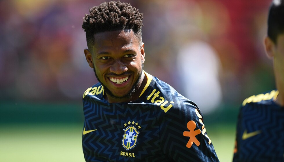 UNITED-AKTUELL: Brasilianske Fred kobles til Manchester United. Nå kan en overgang være klar allerede i løpet av uka. Foto: AFP PHOTO / Oli SCARFF