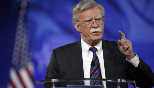 COMEBACK: John Bolton er tilbake som nasjonal sikkerhetsrådgiver i Det hvite hus.