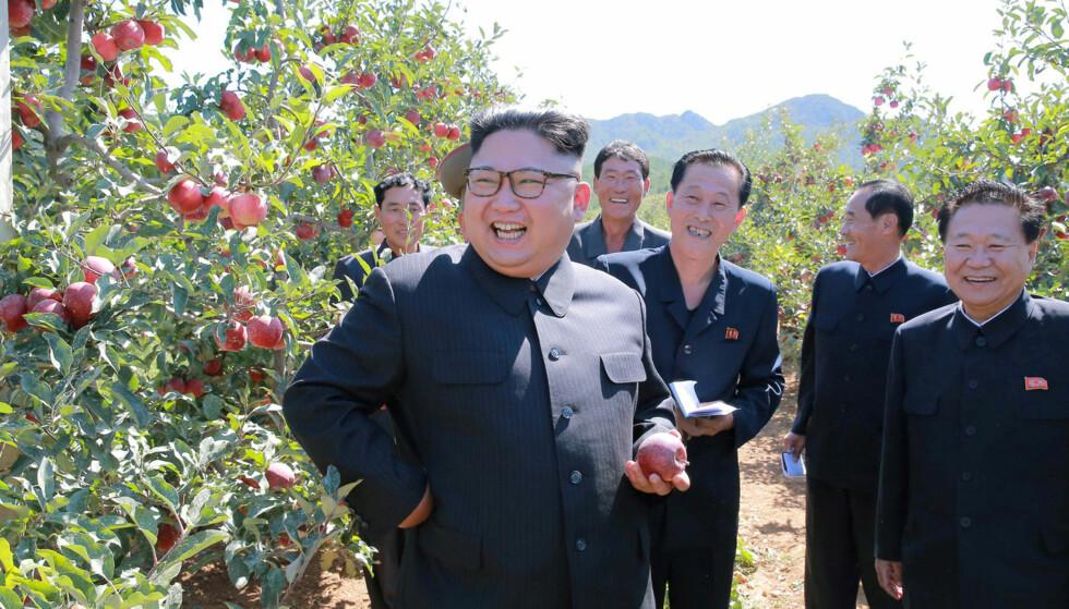 KLAR FOR MØTE: Det jobbes på spreng for å få alt klart til toppmøtet mellom Donald Trump og Kim Jong-un tirsdag neste uke. Statslederne møtes i Singapore og flere aktører, som fredsprisvinneren ICAN, har sagt seg villige til å betale for sistnevnte. Foto: NTB scanpix