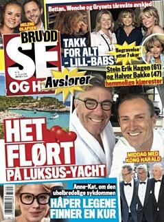 Stein Erik Hagen Og Halvor Bakke Stein Erik Hagen Har Funnet Tonen Med Tv Kjendis