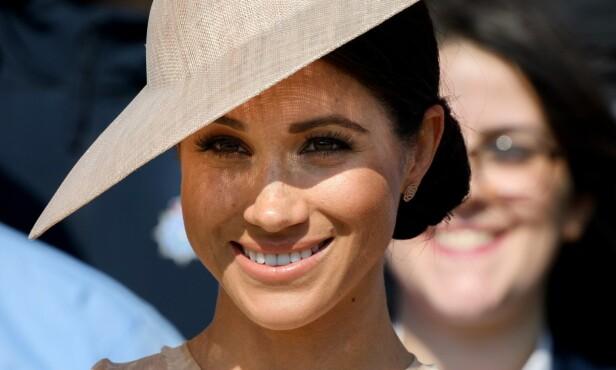 HERTUGINNE: Meghan vil omtales som hertuginne Meghan av Sussex når hun framover deltar på oppdrag alene. Hvis Harry er med, kan hun omtales som prinsesse Henry. Foto: NTB Scanpix