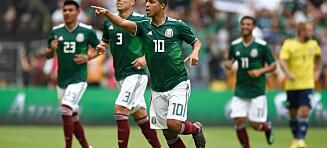 Mexico-spillere ladet opp til VM på fest med «30 eskorter»