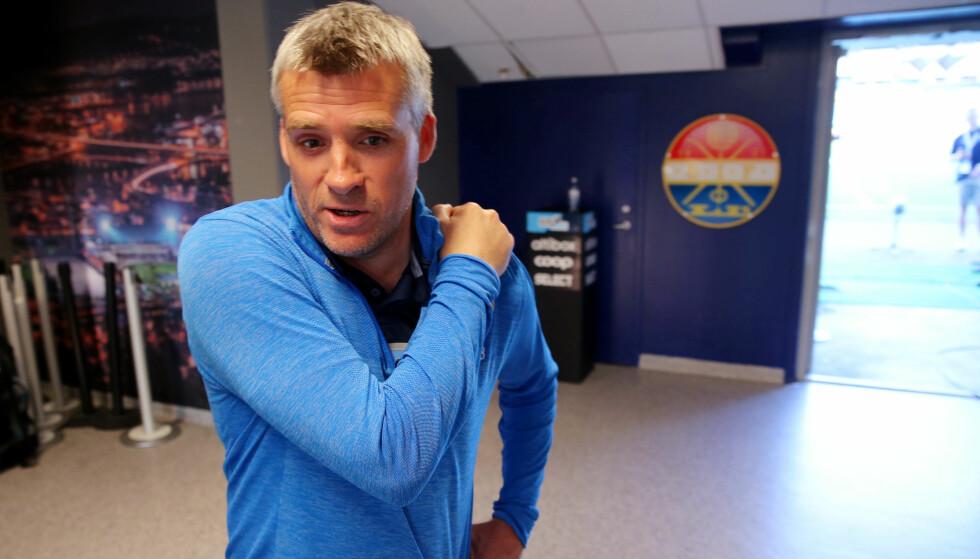 NY JOBB: Tor Ole Skullerud går fra å være trener i Strømsgodset til å bli ekspert for Eurosport. Foto: Ørn Borgen / NTB scanpix