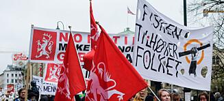 Fagforeningsknusing er en skam for Norge