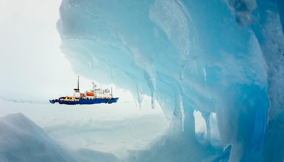MIKROPLAST: Miljøorganisasjonen Greenpeace har funnet mikroplast og miljøgifter i øde områder i Antarktis. Foto: NTB Scanpix