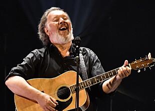 I OPERAEN: Bjørn Eidsvåg med band og gjester hadde konsert i Operaen lørdag kveld. Foto: Lars Eivind Bones