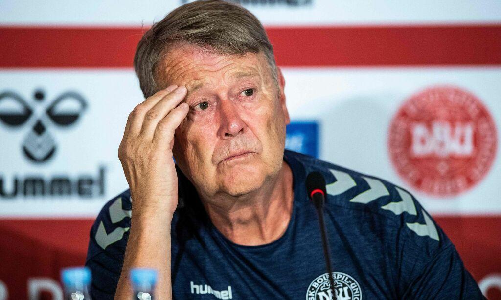 image: Hareide skjelte ut journalist - rasende etter Bendtner-spørsmål