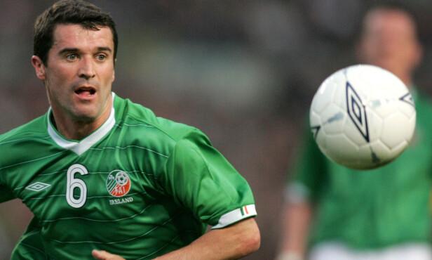 FORBANNA: Irlands Roy Keane. Foto: REUTERS/Paul McErlane/NTB Scanpix