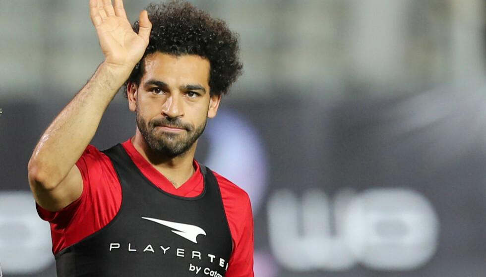 USIKKER: Egypt vet ikke om Mohamed Salah rekker åpningskampen i VM. Foto: REUTERS/Mohamed Abd El Ghany