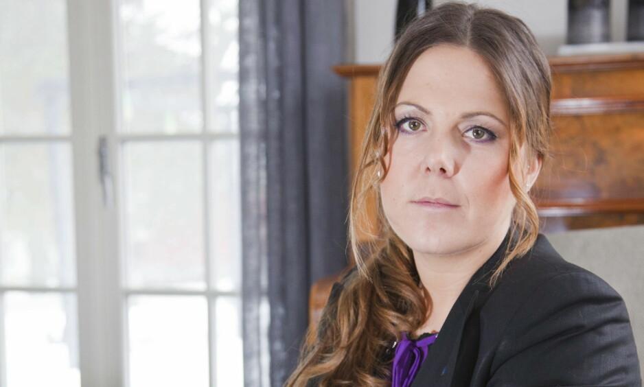 ANONYME SJIKANE-BREV: Stortingsrepresentant Lene Westgaard-Halle (H) har i åtte år blitt plaget med anonyme brev i postkassa. Foto: Per Flaathe