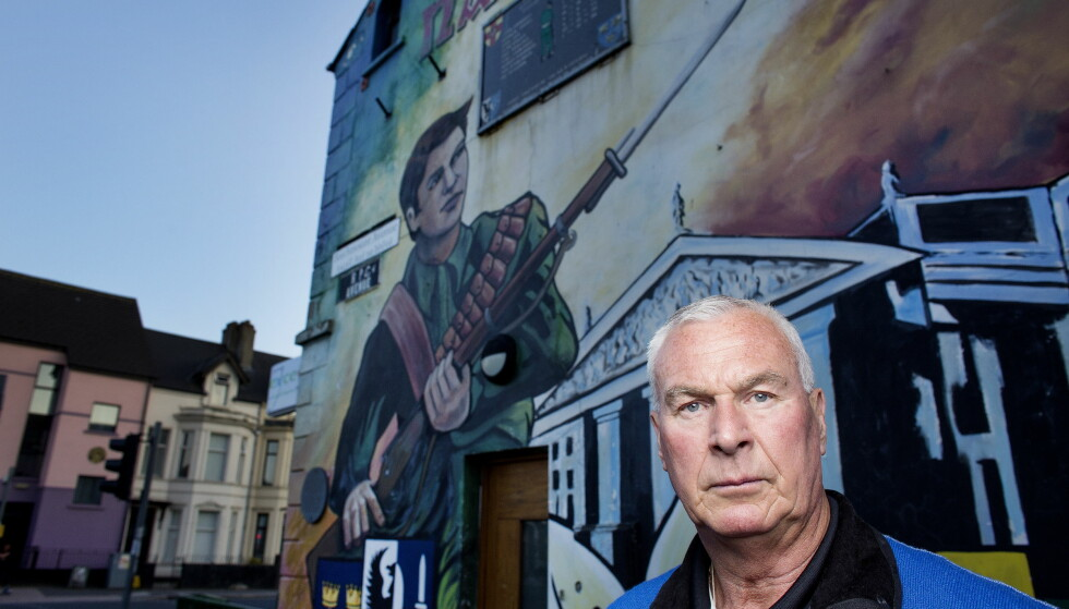 LIVSFARLIG OPPDRAG: Espen Lee ble sendt til Belfast av E-tjenesten og britiske MI5. - Da jeg ble «outet» på Stortinget, satt jeg i møte med ledelsen i IRA. De trodde de skulle kjøpe våpen stjålet fra det norske militæret, forteller Espen Lee. Foto: Henning Lillegård / Dagbladet.