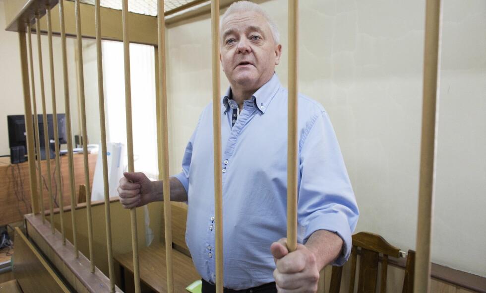 FENGSLET: Onsdag møter spionasjeanklagde Frode Berg til fengslingsmøte i Moskva. Foto: Henning Lillegård / Dagbladet .