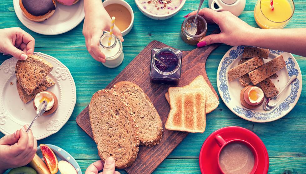 FROKOSTFRITT: Det er en myte at frokost er slankende, mener Terence Kealey, britisk professor. Han får støtte i Norge. Foto: NTB Scanpix