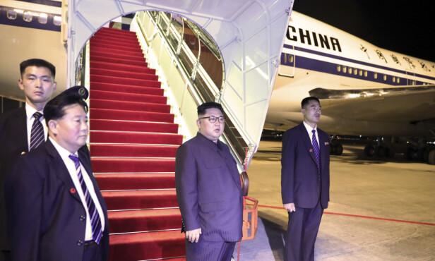 FARVEL: Kim Jong-un forlot Singapore tirsdag, etter tre dager innlosjert på luksushotellet St. Regis. Foto: Singapore Ministry of Communications and Information