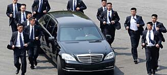 Kim Jong-un ble passet på av «verdens mest omtalte venner»