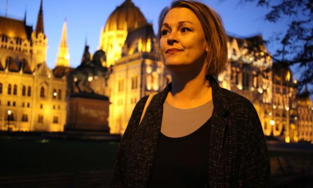 BELASTNING: Marianne Melgård, psykologstudent i Budapest, gleder seg over ESAs vurdering av Ungarn-utdannelsen, men synes belastningen har vært stor for de 250 berørte. Foto: Maria Skarpaas Andersen