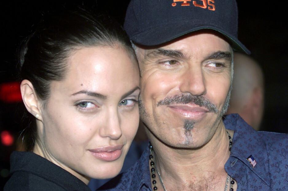 FREMDELES VENNER: 20 år skiller Angelina Jolie og eksmannen Billy Bob Thornton, men det var ikke den store aldersforskjellen som var grunnen til bruddet mellom dem. Foto: NTB Scanpix.