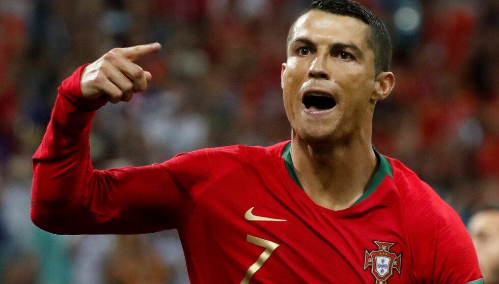 I EGEN KLASSE: Cristiano Ronaldo er sportens største målscorer, og vet det. FOTO REUTERS/Murad Sezer.