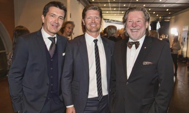 FAMILIEBEDRIFT: Odd Reitan (t.h) sammen med sønnene Ole Robert (t.v) og Magnus. Foto: Tore Skaar