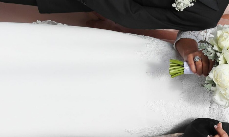 GIFTET SEG: Odd Reitan og Hilde Undlien giftet seg lørdag ettermiddag i Nidarosdomen i Trondheim. Foto: Andreas Fadum