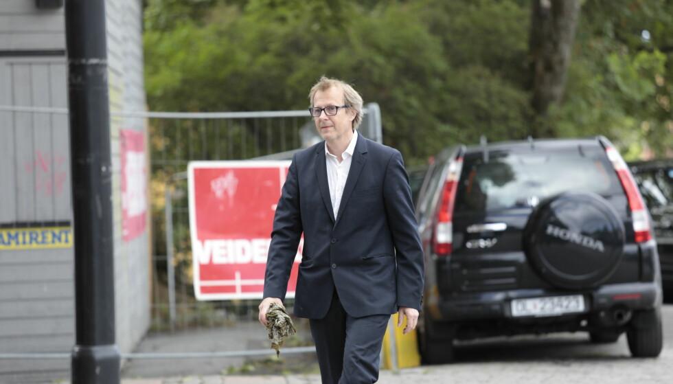 TIL STEDE: Lars Lillo-Stenberg. Foto: Nina Hansen