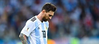 Sampaoli forsvarer Messi etter største VM-tap på 60 år