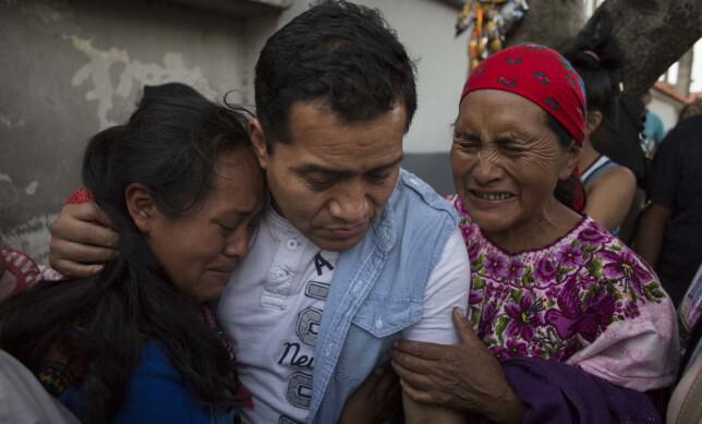 DEPORTERT: Juan Lopez ble deportert tilbake til Guatamala sammen med 250 andre illegale innvandrere. Foto: AP/Luis Soto/ NTB scanpix.