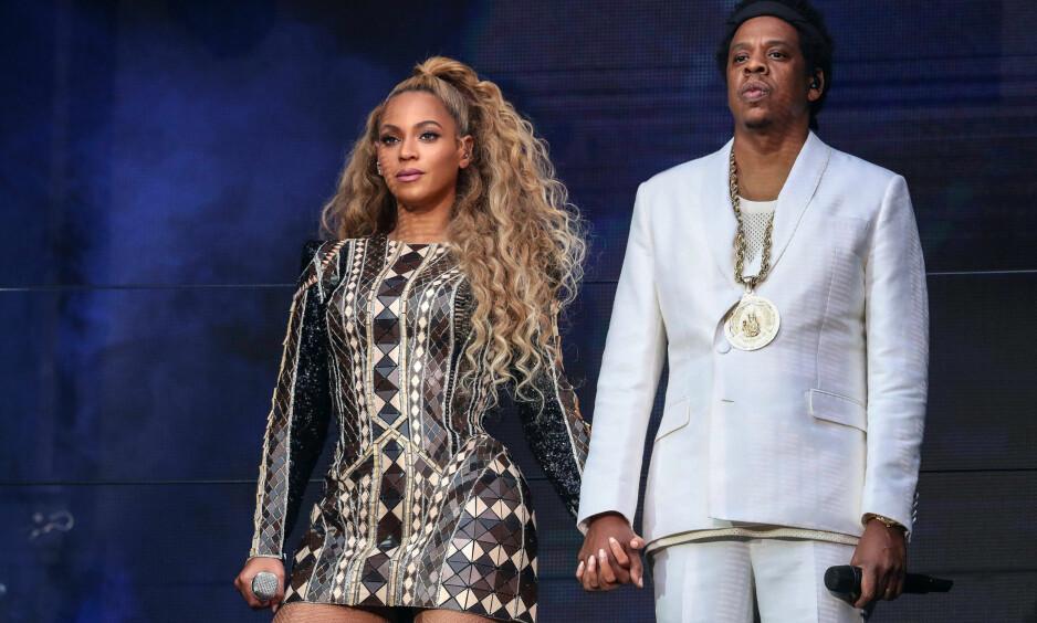 NORSK PRODUSENT: Selv om Beyoncé og Jay-Z dropper norgesbesøk på deres pågående turné, valgte stjerneparet blant annet en norsk produsent på albumet «Everything Is Love». Foto: NTB scanpix