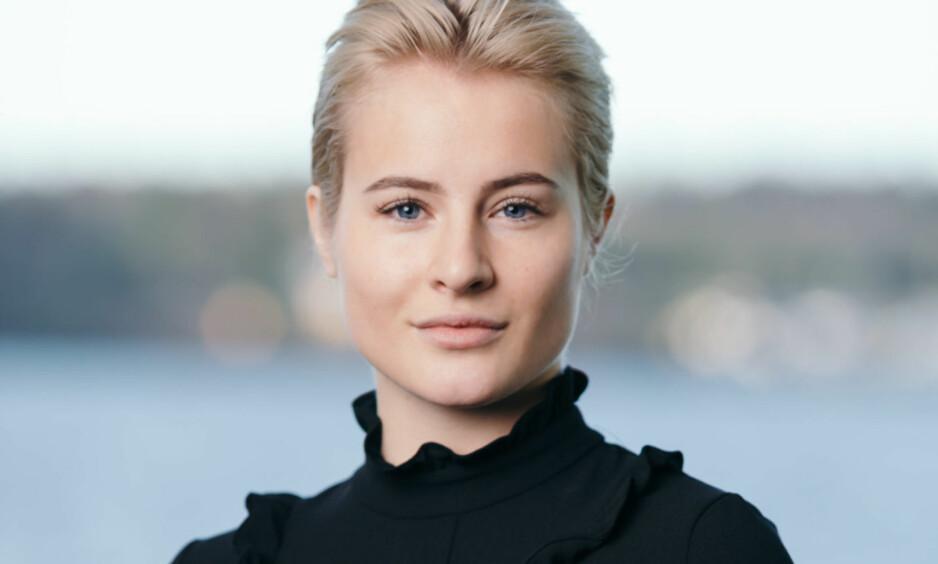OMTALT JOBBTILBUD: Ferd-aving Katharina G. Andresens ansettelse hos Innovasjon Norge har skapt reaksjoner. Nå forteller 23-åringen at hun føler seg hengt ut. Foto: Frédéric Boudin / Ferd