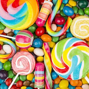 HARD KONKURRANSE: I en verden av fargerike søtsaker har indiske MTR Foods valgt å satse på norske Laban. Foto: Shutterstock/NTB Scanpix