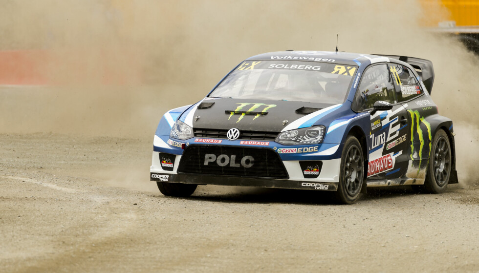 RALLY: Petter Solberg fikk trøbbel underveis i løpet. Foto: Alley, Ned / NTB scanpix